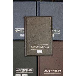Monetarium Albums to hold carded coins (30 per album) 6 Albums