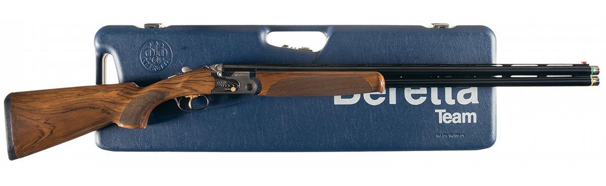 Image 1 Beretta 682 Gold E Sporting Over Under Shotgun With Case And Accessories