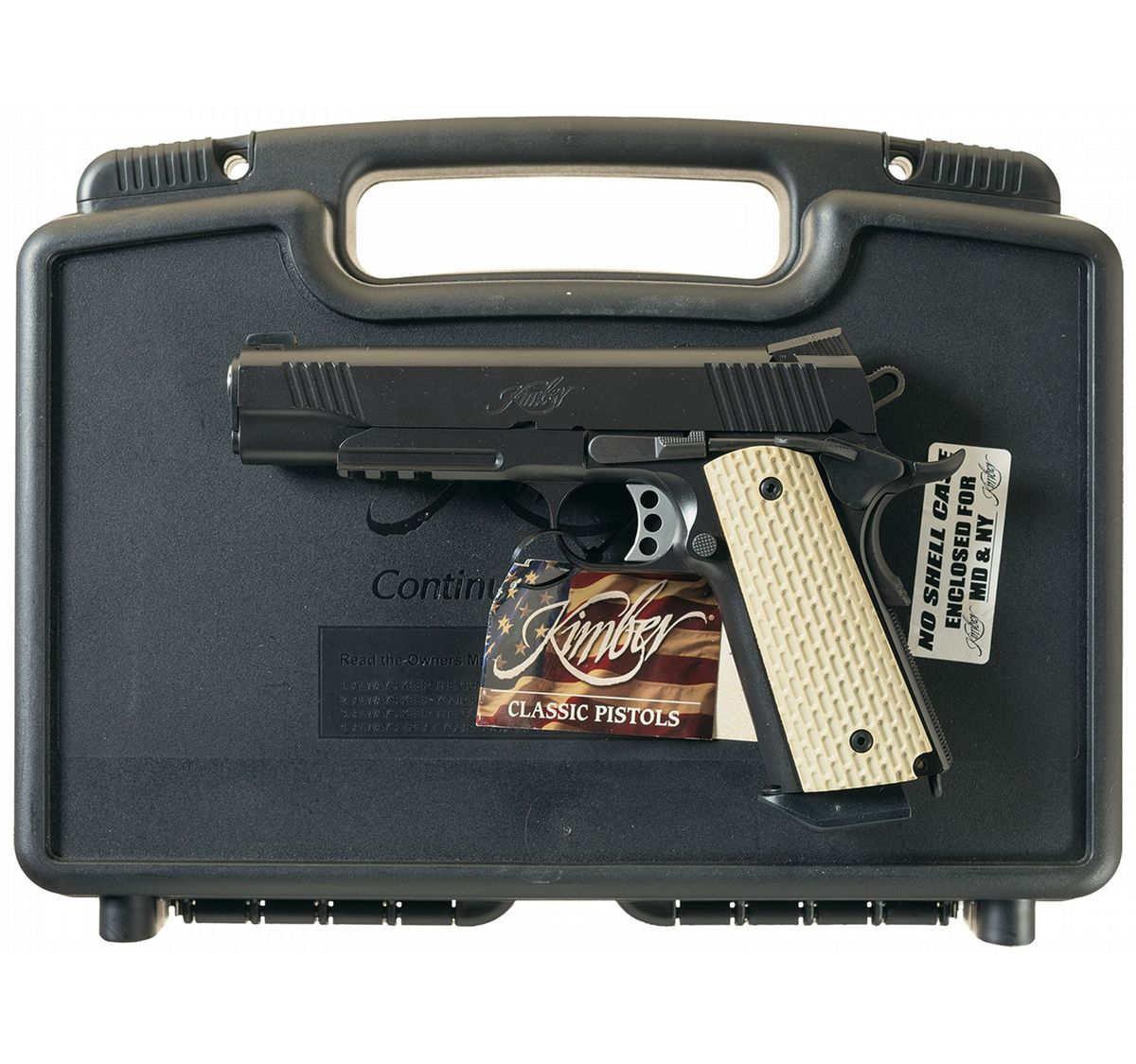 Kimber Warrior 1911 Semi-Automatic Pistol with Case