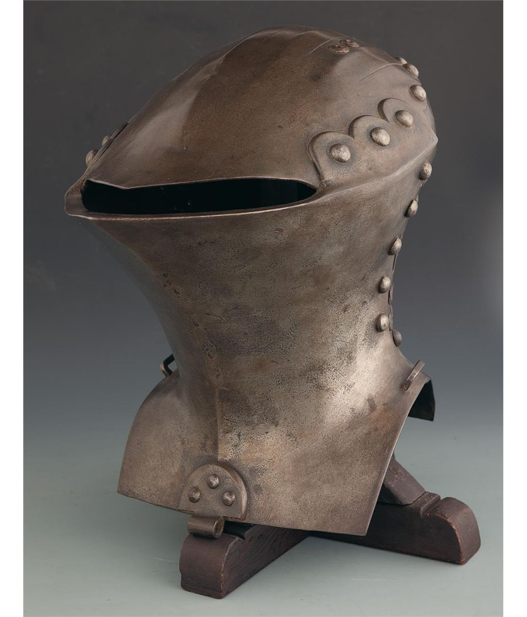 Jousting Helm with Stand