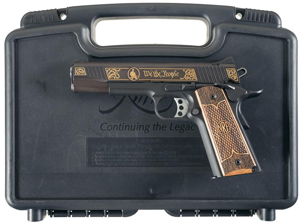 Kimber Custom II NRA Limited Edition Semi-Automatic Pistol with Case
