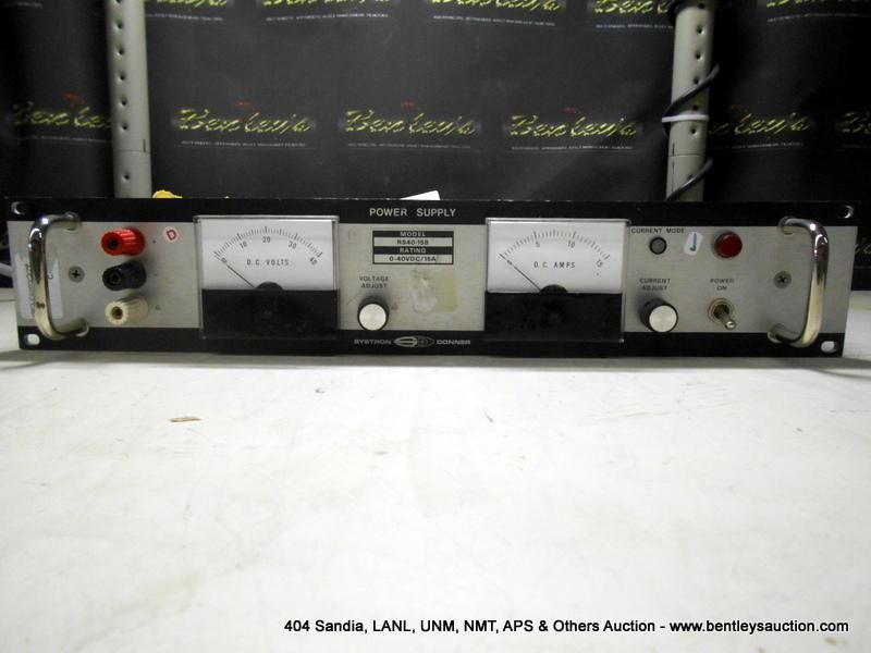 SYSTRON DONNER RS40 15B POWER SUPPLY