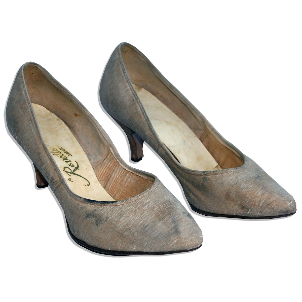 21317b0cc6bc Image 1   Jackie Kennedy Personally Owned   Worn High Heel Shoes -- Shoes by