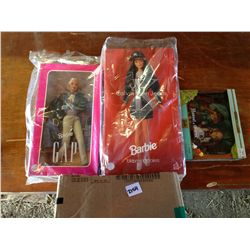 Lot of 3 Barbie in boxes