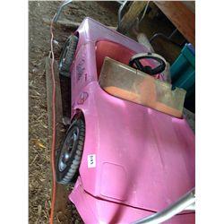 Barbie eclectic power wheels corvette