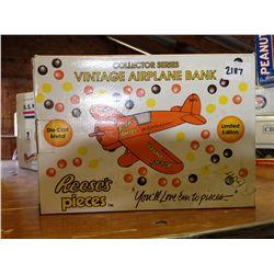 collector series vintage airplane bank