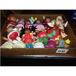box lot of cabbage patch minis