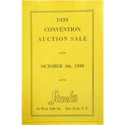 COVER VARIANT OF 1939 ANA CONVENTION SALE