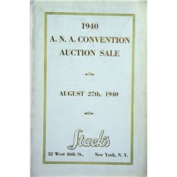 THE 1940 ANA CONVENTION SALE