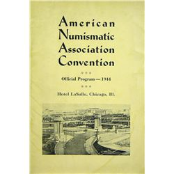 THE 1944 ANA CONVENTION SALE