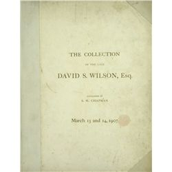PLATED DAVID WILSON SALE