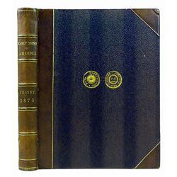 1875 CROSBY IN NOVA CONSTELLATIO BINDING