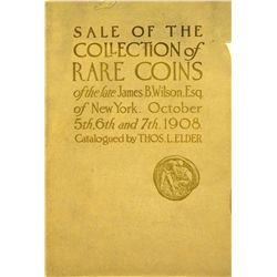 JAMES WILSON SALE WITH PLATES