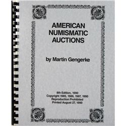 GENGERKE ON U.S. AUCTIONS