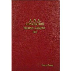 HARDCOVER 1951 ANA CONVENTION SALE
