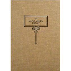 MERKIN LIBRARY SALE