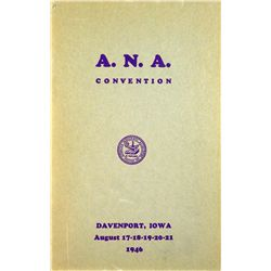 1946 ANA CONVENTION SALE