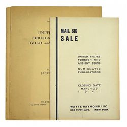 RAYMOND MAIL-BID SALES