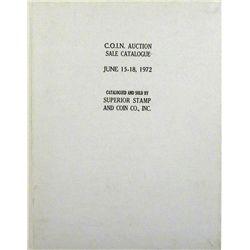 HARDCOVER 1972 C.O.I.N. SALE