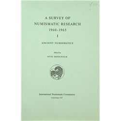 A SURVEY OF NUMISMATIC RESEARCH