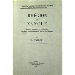 RHÉGION ET ZANCLE