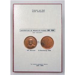 MÉDAILLES RUSSES 862–1908