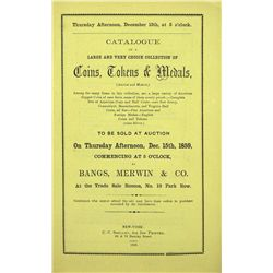 BANGS 1859 CURTIS SALE