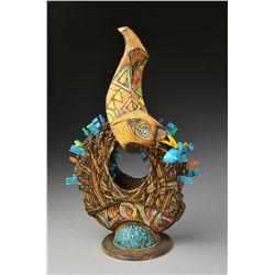 Bower Bird  by Derek Weidman
