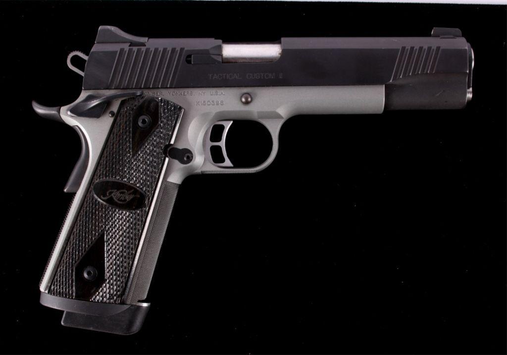 Kimber Tactical Custom II 1911 Handgun 45 ACP