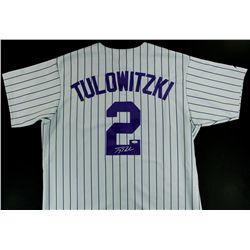 pretty nice d43d2 20be7 Troy Tulowitzki Signed Rockies Jersey (Steiner COA)