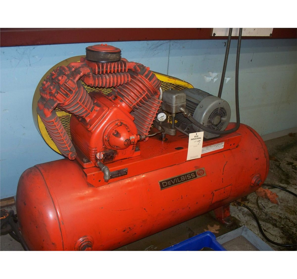 Devilbiss Air Compressor 10 Hp