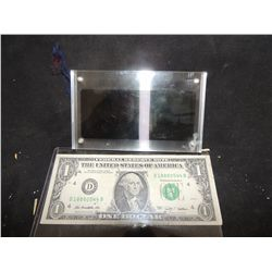 BLADE RUNNER TWO SIDED HOLOGRAM IN ACRYLIC DISPLAY NO RESERVE!