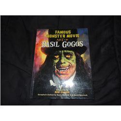 BASIL GOGOS FAMOUS MONSTER MOVIE ART BOOK