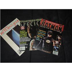 BATMAN RETURN OF THE JEDI SPECIES FILM BOOKS