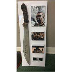 BOOK OF ELI SCREEN USED STUNT SWORD IN NICE DISPLAY