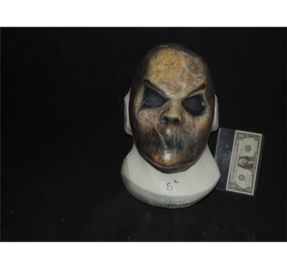 Sinister 2 Screen Used Stunt Bughuul Mr Boogie Mask With Eye Holes
