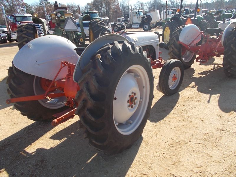 FORD 8N FARM TRACTOR, S/N , 3 PTH, PTO, 12 4-28 REAR TIRES, 6 00-16 FRONT  TIRES