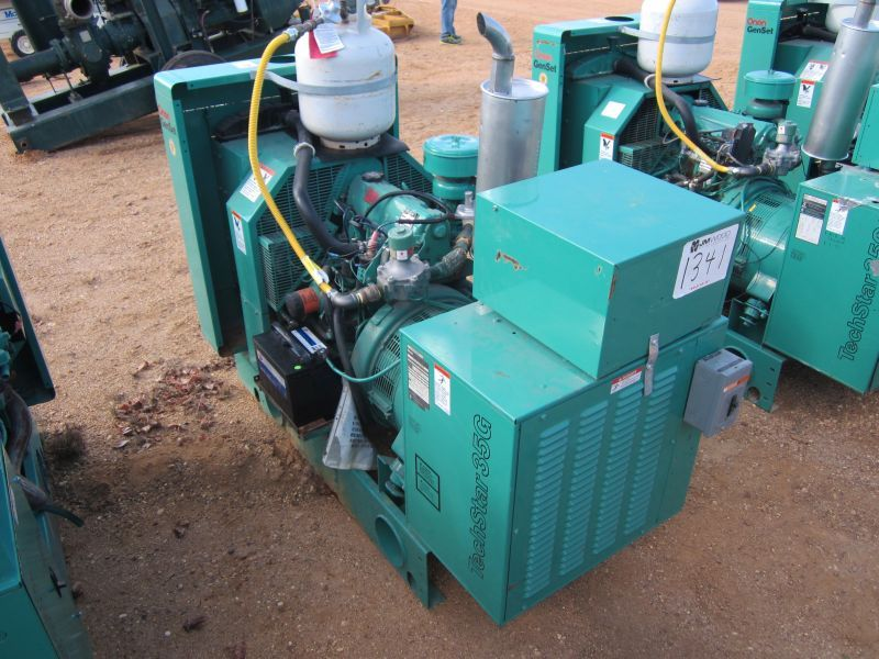 ONAN 35SJB GENERATOR, S/N 35SJBL17399D, 35 KW 120/208/230 SINGLE PHASE &  208/230/460 3 PHASE POWER C