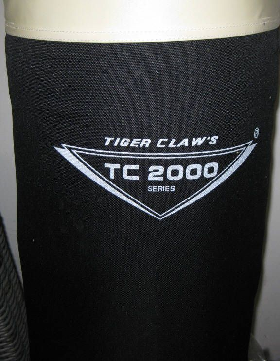 New Tiger Claw TC-2000 Heavy Duty Punch/Kick Bag