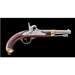 French Model 1822 Perc. Military Pistol
