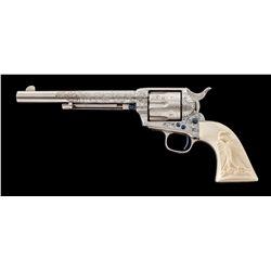 NY Style Engraved Colt SAA Revolver