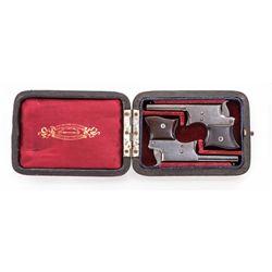 Cased Pr. Remington Vest Pocket Derringers