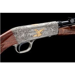 Angelo Bee Eng'd Bel. Browning Grade 3 Rifle