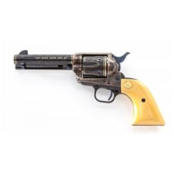 Angelo Bee Eng'd & Inlaid Colt SAA Revolver