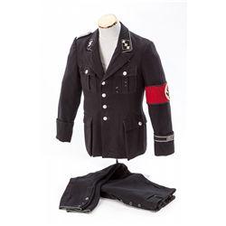 Pre-1935 Black SS Uniform and Pants