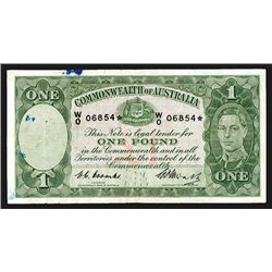 Commonwealth of Australia, ND (1949) Replacement / Star Note.