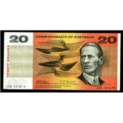 Commonwealth of Australia, Reserve Bank, ND (1968) Replacement / Star Note.