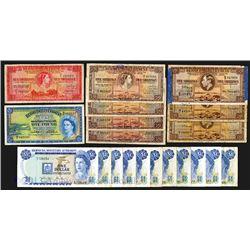 Bermuda Banknote Assortment, ca. 1937-1986.
