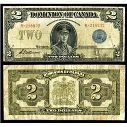 Dominion of Canada, 1923, Issued Banknote