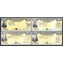 U.S. Savings Bond Quartet.